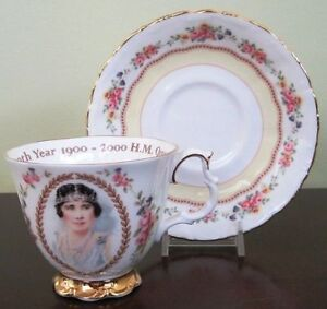 Queen Mum Royal Albert Cup and Saucer