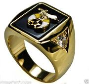 Masonic Shriners Rings
