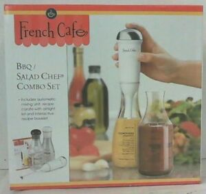 French Cafe - BBQ Salad Chef Combo Set