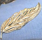 Vintage Signed Brooch