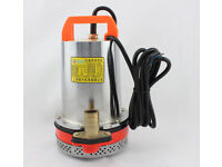 24VDC pump -DC Submersible Fountain pump for watering washing