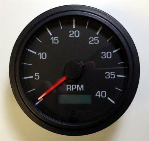 4000 rpm tachometer ebay. Black Bedroom Furniture Sets. Home Design Ideas