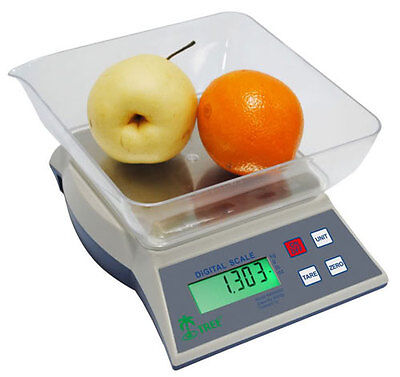Tree Kmr-6000 Digital Kitchen Scale Food Culinary Diet 6000g X 1g Ac Adapter