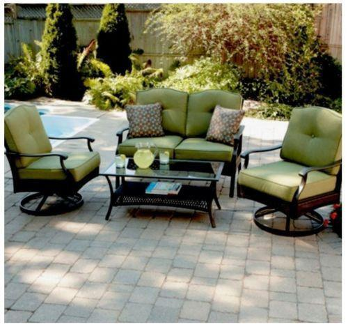 patio furniture conversation set ebay