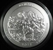 2012 America The Beautiful 5 Ounce Silver Coin