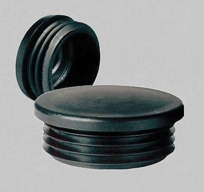 10x Stopfen für Rundrohr 22 mm  Lamellenstopfen Gleiter