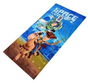 Disney Pixar Toy Story Cotton Beach Towel for Kids 30 x 60 Inch [Space Cowboyz]
