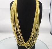 Gold Plated Silver Chain