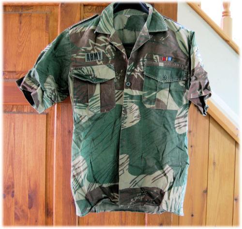 Rhodesian Army Ebay