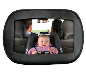 large wide view rear baby child seat car safety mirror headrest mount ebay. Black Bedroom Furniture Sets. Home Design Ideas