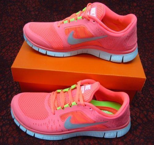 pink nike free runs ebay uk