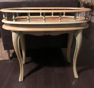 Plant Table (Solid wood and refinished)