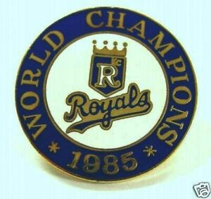 Kansas City Royals 1985 World Champions Pin