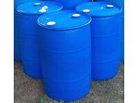 Plastic barrels t