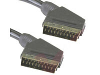SCART to SCART male to male TV cable leads