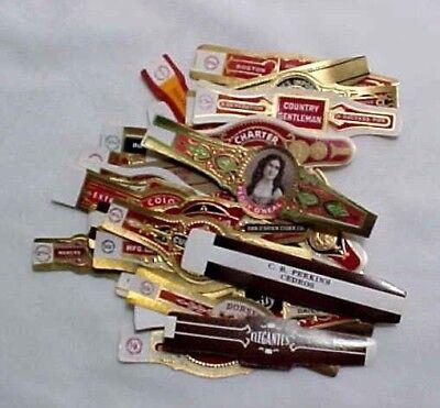 Lot of (30) Vintage Cigar Bands - All Different #11