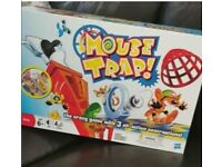Mouse trap game board game