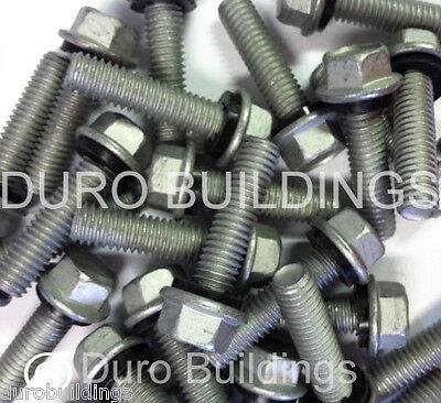 Duro Steel Building 100 Count 516 X 1.25 New Arch Grain Bin Boltnut Washer