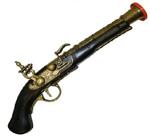Pirate-Highwayman-Musket-Pistol-Gun-Fancy-Dress-Costume-Accessory-Toy-B52-727