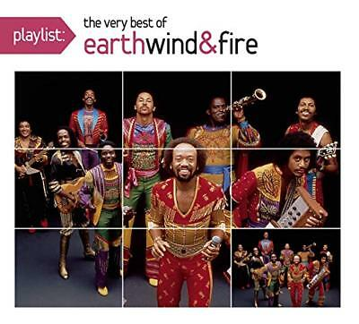 EARTH WIND & FIRE CD - PLAYLIST: VERY BEST OF EARTH, WIND AND FIRE (2015) -
