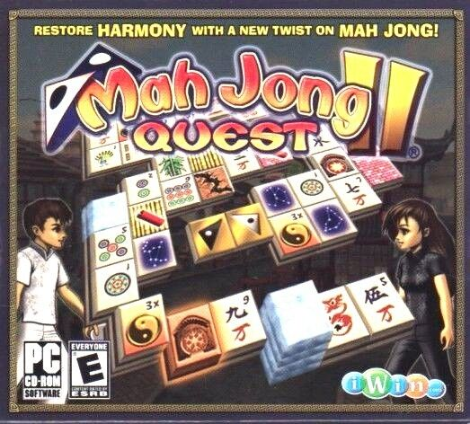 Computer Games - Mah Jong Quest II PC Games Windows 10 8 7 XP Computer mahjong quest 2 puzzle NEW