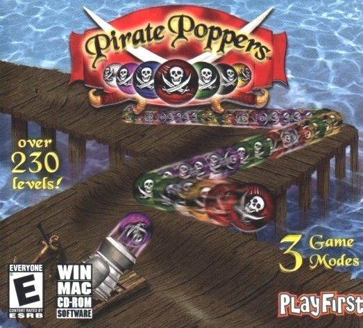 Computer Games - Pirate Poppers PC Games Window 10 8 7 XP Computer Game match luxor snake gem pop