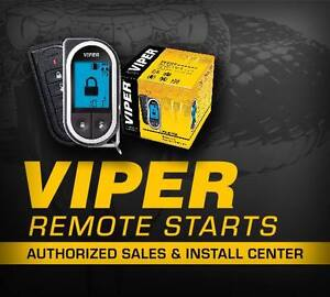 VIPER remote starts fully installed AT AN APPROVED DEALER