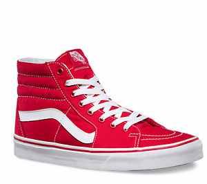 Women's Vans High Tops [Red]