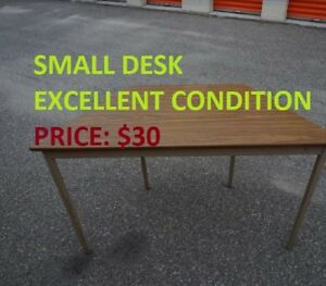 Excellent Small Desks are up for sale!