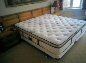King Mattress /Boxspring / Frame (S&F) Complete Package