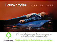Harry Styles Tickets -- Read the ad description before replying!!