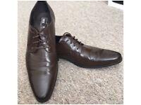 Men's Brown Smart Shoes size 11