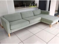Lovely Ikea 3-4 Seater Corner Sofa/ Settee Good Condition Can Deliver