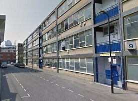 Fantastic large studio apartment in warehouse conversion - 5 min Old street