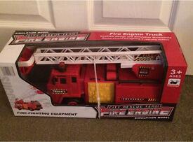 Brand New City Rescue Team Fire Engine, age 3+, BNIB, £12,