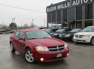 2008 Dodge Avenger SXT,Low Km ,SunRoof,CERTIFED