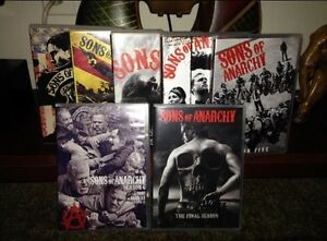 """Sons of Anarchy "" All 7 Seasons  Cambridge Kitchener Area image 1"