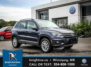 2015 Volkswagen Tiguan 4Motion AWD w/Sunroof 0.99% Financing  Av