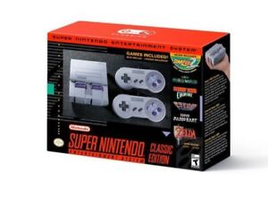 BRAND NEW SNES Super Nintendo Classic Edition on sale in store!