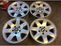 Bmw e46 e36 skid wheels alloys drift