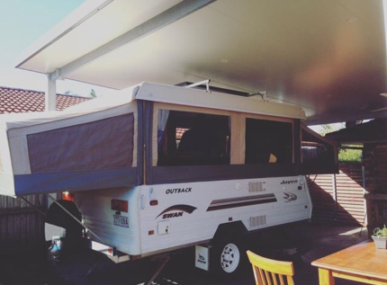 2002 Jayco Swan outback / 6month rego