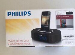 PHILIPS NEW ALARM CLOCK RADIO 30-pin Speaker Dock for iPod/iPhone AJ7030DG/37