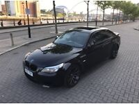 BMW E60 M5 SMG SALOON V10 507 BHP SMG IN MET SAPPHIRE BLACK MAY PX OR SWAP