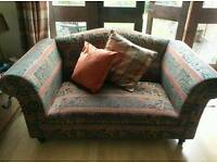 Upholstery opportunity two seater sofa