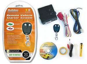 Bulldog RS-82 Remote Car Starter with DesignTech Bypass Module