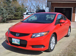 MOVING!!! MUST GO!!! 57km. 2012 Honda Civic EX Coupe (2 door)