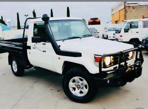 2006 Toyota Landcruiser HDJ79R White 5 Speed Manual Cab Chassis Dandenong Greater Dandenong Preview