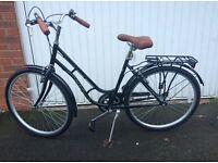 Ladies black Viking Varsity Bike