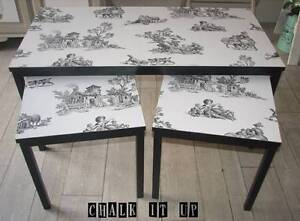 Nest of 3 Tables - Coffee + 2x side tables ~ Like New Varsity Lakes Gold Coast South Preview