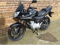 Honda CBF125 Black Motorbike **ONLY 1200 MILES** 125cc - Learner Friendly